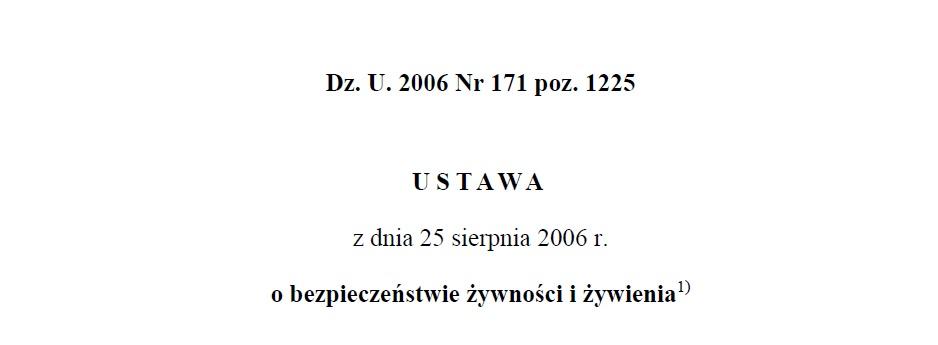 HACCP dla produkcji domowej. Zmiany wprzepisach od01.01.2019r.